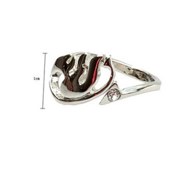Cartoon Tail UK - Korean Jewelry Cartoon Fairy Tail Ring Alloy Silver Plated Ring Adjustable Women's Ring