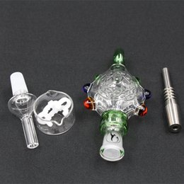 Oil Rig Pendants Australia - Nectar Collector Perc Pendants with Titanium Tips Pure Water-cooled Spillproof Nectar Collector 3.0 Oil Rig NCP