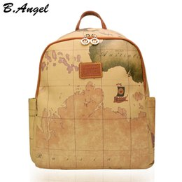 Backpack world australia new featured backpack world at best high quality world map backpack women retro leather backpack brand design school backpack fashion backpack hc z 6652 gumiabroncs