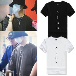 b0ef0b3d3011 Dice point T shirt Got7 group Jae Beom short sleeve gown JB Music band tees  Leisure printing clothing Unisex cotton Tshirt