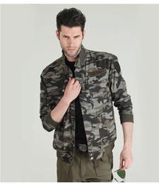 Discount hunting uniforms - Wholesale- FREEKNIGHT Uniform Hunting Thanks Camouflage Jacket Men Coat Collar Jacket Locomotive Waterproof Windproof Co