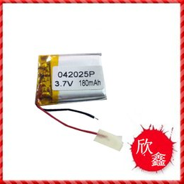 battery gps polymer Australia - Specials 042025 402025 MP3 3.7V high-capacity polymer lithium battery Bluetooth GPS