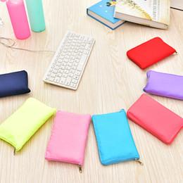 Ladies muLti pocket handbags online shopping - Colourful Single Shoulder Pocket Multi Function Storage Handbags Folding Shopping Bag For Lady Easy To Carry wb C R