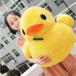 $enCountryForm.capitalKeyWord Canada - Dorimytrader 60cm x 55cm Giant Kawaii Soft Anime Yellow Duck Plush Toy Stuffed Cartoon Ducks Animal Pillow Kids Gift DY61784