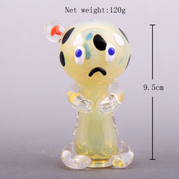 Girl Bongs NZ - Small Red Hat Girl Style Handmade Bubblers Free Shipping Glass Spoon Pipes For Smoking Glass Pipes Bongs Tobacco For Glass Pipe Oil Rigs