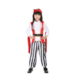 pirate girls halloween costumes cosplay clothing set stage clothes kids wear children masquerade party drop free dress - Teenage Girl Pirate Halloween Costumes