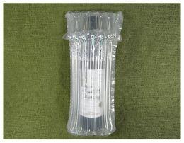 DHL SF EXPRESS 32 * 8cm Air Dunnage Bag Luft gefüllt Schutzweinflasche Wrap aufblasbares Luftkissen Column-Verpackungs-Beutel mit einer freien Pumpe im Angebot