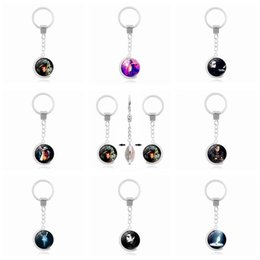 $enCountryForm.capitalKeyWord NZ - Brand new Galaxy Star Time Gemstone Keychain Pendant Foreign Trade Jewelry Key Chain R147 Arts and Crafts mix order