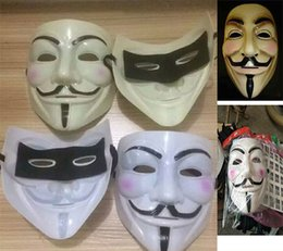 $enCountryForm.capitalKeyWord UK - 4 Color V for Vendetta Mask Guy Fawkes Anonymous Halloween Masks Unisex Cartoon Movie Fancy Dress Cosplay Masquerade Party Mask Gifts WX-C04