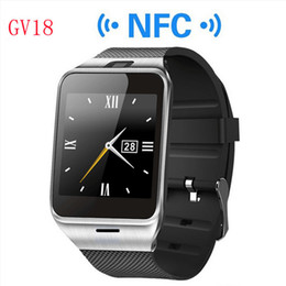 $enCountryForm.capitalKeyWord Canada - 2016 Bluetooth Phone GV18 Smartwatches 1.5 inch NFC Smart Watch With touch Screen Camera SIM GSM Phone Call for Android Phone Wholesale