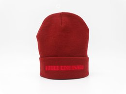 Cool Winter Beanies For Men NZ - Good Selling new winter cool hats for men fashion I feel like Pablo Beanies hat fall of 2016 yeezus season 4 Kanye west Beanie 4colors