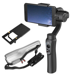iphone gimbal UK - Freeshipping 3-Axis Handheld Gimbal Stabilizer with Adapter For GoPro 5 4 3+ for iPhone 7 6S 6 Plus Samsung S8 S7