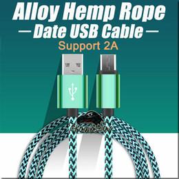 Venta al por mayor de 3FT 6FT 10FT Micrófono de cobre trenzado TIPO USB C Cable de cable de datos de sincronización para Samsung S8 S6 S7 LG HTC Huawei