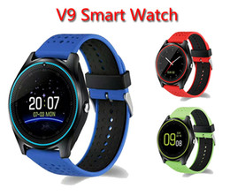 $enCountryForm.capitalKeyWord NZ - V9 Smartwatch Support TF SIM Card Dial Phone Call With Camera Pedometer Bluetooth 3.0&4.0 Wristwatch Sport Smart Watch For Android IOS