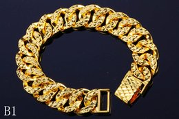 Days 24k bracelet online shopping - 24K Gold Plated Bracelets Not Fade Charm For Men And Women Top Quality Link Chain Fine Jewelry Hot Sale Price