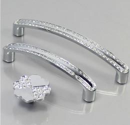 10pcs Modern Furniture Handles Hardware Crystal Set Diamond Knobs Drawer  Wardrobe Kitchen Cabinets Cupboard Dresser Pull Door Accessories