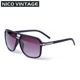 Discount stylish sunglasses for men - Wholesale-New Stylish Oversized Sunglasses For Men Large Black Lens Lunette de soleil Classic Simple Man Sun Glasses Big
