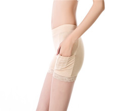 Discount knit underwear - 3PC Women Sexy Safety Trousers Summer Underwear Short Lace Leggings with Pocket