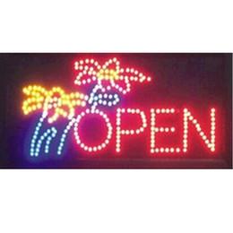 $enCountryForm.capitalKeyWord UK - 2016 hot sale 10*19 Inch Semi-outdoor Ultra Bright flower shop signage led open neon sign wholesale
