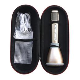$enCountryForm.capitalKeyWord Canada - K068 Wireless bluetooth Microphone microfone with Mic Speaker Condenser Mini Karaoke Player KTV Singing Record for iphone samsung cellphone
