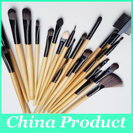 professional makeup brush sets wholesale Canada - Professional 24Pcs Makeup brush Tools make up brushes Cosmetic Brushes Set Kit Tool and Accessories Wholesale