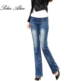 fc163873897 Plus Size Bell Bottom Jeans Women UK - Promotion women s Bell bottom jeans  plus size female