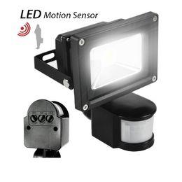 Pir floodlights online shopping - 10W W W W W PIR Infrared Motion Sensor led floodlight V waterproof IP65 parki led for Garden spotlight outdoor lights