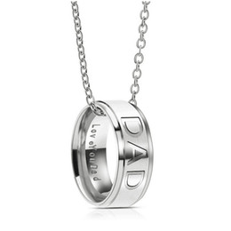 Shop titanium celtic pendants for men uk titanium celtic pendants new love you dad mom necklace stainless steel band ring pendant family member love fashion jewelry for women men drop shipping mozeypictures Images