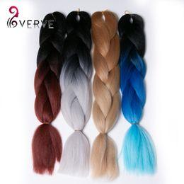 xpression braiding hair wholesale 2019 - Ombre Kanekalon Braiding Hair 5pcs Synthetic Braiding Hair 3 Tone Xpression Braiding Hair High Temperature discount xpre