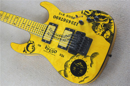 $enCountryForm.capitalKeyWord NZ - Wholesale High Quality Yellow KH-2 Kirk Hammett Ouija Electric Guitar China Free Shipping