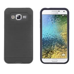 $enCountryForm.capitalKeyWord Canada - Hot Sell 2 in 1 Hybrid Armor Shockproof Cell Phone Case TPU+PC For Samsung E5 Fashion case