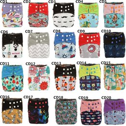 Couches De Tissu Double Gousset Pas Cher-[Sigzagor] Bamboo Charcoal Baby Cloth Diaper Nappy Pocket Lavable, Double Gussets