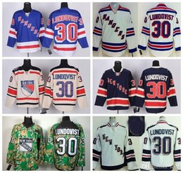 Discount york outlet - Factory Outlet, 2014 Stadium Series New York Rangers Hockey Jerseys 85th #30 Henrik Lundqvist Jersey Home Royal Blue Whi