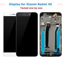 Xiaomi Redmi Canada - Original For Xiaomi Redmi 4X LCD Display with Frame Screen Touch Panel Redmi 4X LCD Display digitizer Frame Assembly Spare Parts