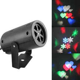 Toptan satış Led duvar dekorasyon lazer ışığı LED desen ışıkları, rgb renk 2 desen kart değişimi lamba Projektör Duşlar tatil için led lazer ışığı