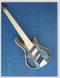 $enCountryForm.capitalKeyWord Canada - Mayones custom bass guitar 6 string mayones fanned frets electric bass guitar Maple fingerboard neck through body with free shipping