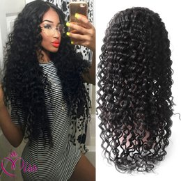 $enCountryForm.capitalKeyWord Canada - Natural Full Lace Wig Brazilian Hair Wigs 100 Full Lace Deep Wave Wig Human Hair Real Wigs For Women