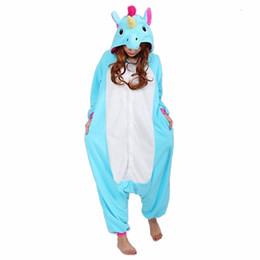 Barato Novo Unicórnio Onesie-Pijama ostume New Adult Onesie Traje de mulher Pijamas Set Cosplay Cartoon Animal Onesie Pijamas Tiger Stitch Bear Panda Star Unicorn P ...