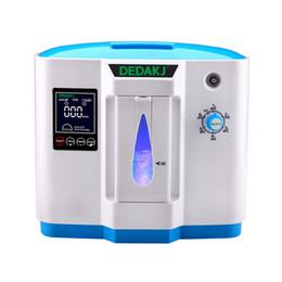 Nouveau générateur de concentrateur d'oxygène portatif médical à usage hospitalier de 90% avec pureté d'oxygène réglable réglable de 1 à 6 LPM