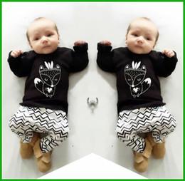 $enCountryForm.capitalKeyWord NZ - 2016 New summer baby boy clothes set cotton Fashion letters printed T-shirt+pants 2pcs Infant clothes newborn baby clothing set