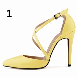 fde9ccfbc82bc Women Pumps Summer Stilettos Plus Size 2016 New Star Women s Sandals Sexy  Fine with hollow Shoes Woman High Heels Shoes