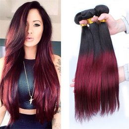 brazilian hair weave no shedding free tangle human hair extensions 100 natural human hair straight ombre hair weave brazilian hair weft 1pcs