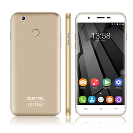 $enCountryForm.capitalKeyWord Canada - Original Oukitel U7 Plus Quad Core 5.5'' Cell Phone with fingerprint MT6737 android 6.0 2G+16G 2500mAh 4G LTE unlocked phone DHL free