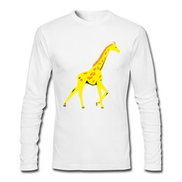 $enCountryForm.capitalKeyWord UK - 2017 New Top Cheap Men's T-shirts with Giraffe Print Shirts For Fashion and Casual Free Shipping