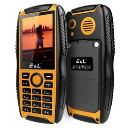 2018 2g mp3 player E&L S200 IP68 Rugged Keyboard Mobile Phone Dual Sim 2000mAh 2G GSM Waterproof Shockproof Phone Cheap Unlocked Keypad Elder Cell Phones 2g mp3 player on sale