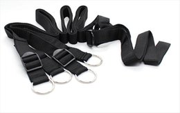 Chasteté Collier D'esclave De Ceinture Pas Cher-BDSM Bondage Gear Dispositifs de chasteté Cuffs Collars Bondage Restraint Menottes Legcuffs Esclave Femdom Souris Ankle Restraint Belt Sex Products