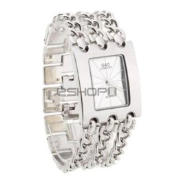 $enCountryForm.capitalKeyWord Canada - Women Quartz Silver Bracelet 3 Layers Wrist Watch Wristwatch Alloy Band Watches Cheap alloy steel round bar