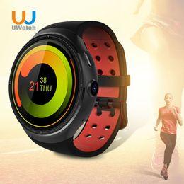 $enCountryForm.capitalKeyWord Australia - Wholesale- Samrt Watch For Android System Support Music Heart Rate Pedonmeter Speaker RAM ROM 1GB+16GB GPS Smart Watch Alloy Wristwatch