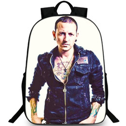linkin park band 2019 - The Chemist backpack Linkin Park daypack Forever Chaz rock band schoolbag Leisure rucksack Sport school bag Outdoor day