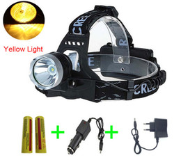 $enCountryForm.capitalKeyWord NZ - 2000 Lumen Head Light C-XM-L T6 LED 3-Mode Headlamp Headlight lanterna Yellow Light Lamp Headlight luz bicicleta Torch